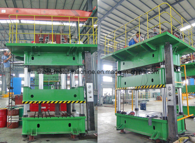 Single Action Hydraulic Press with Movable Table (Y27-500) pictures & photos
