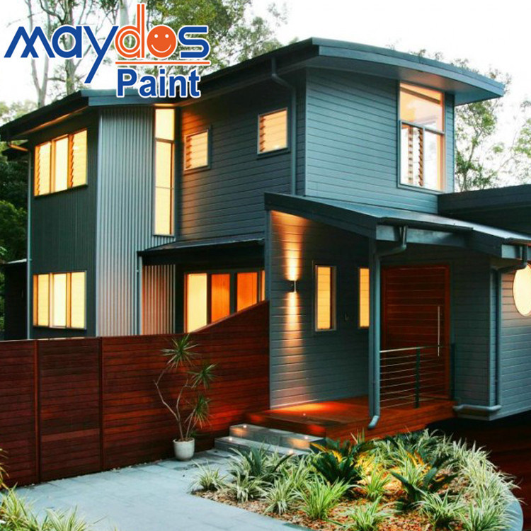Maydos Acrylic Emulsion Exterior Wall Finishes House Paint Color