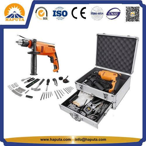 Aluminum Tool Case Storage Box For Power Tools Set (HT 3009)