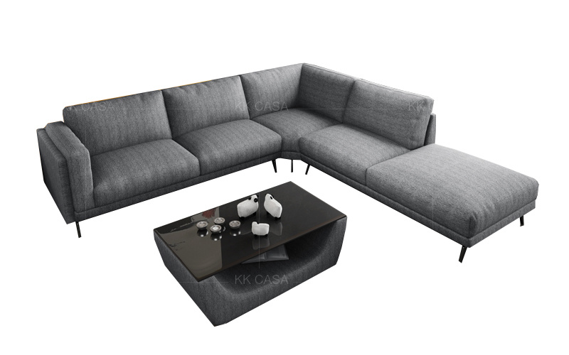 Modern Contemporary Fabric Sofa