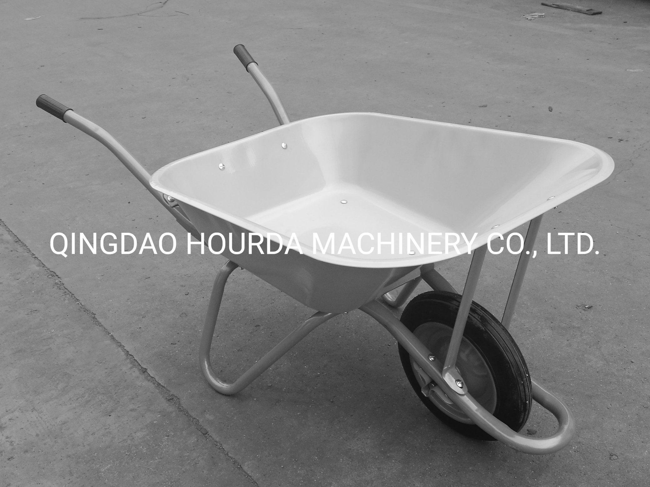 65L Steel Wheelbarrow