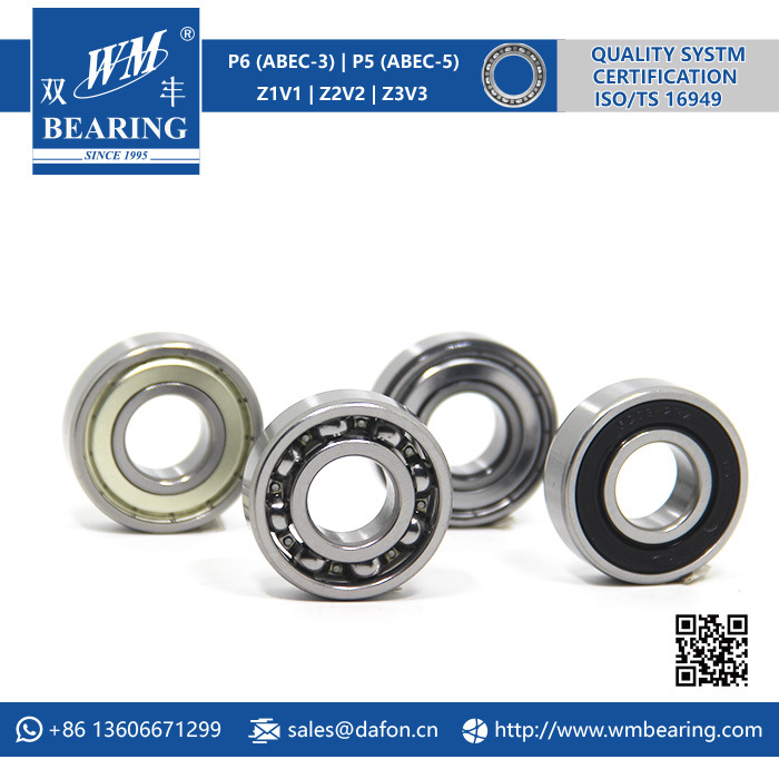 High Precision 6203 C3 C4 Deep Groove Ball Bearing pictures & photos