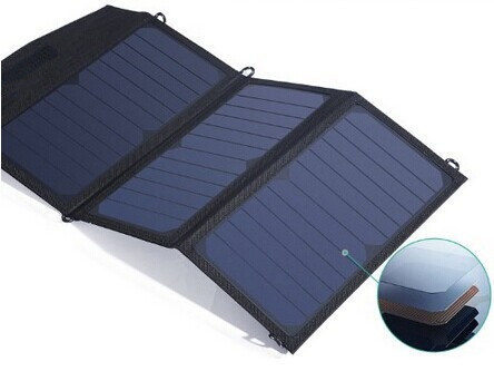 19W Foldable Solar Charger Bag