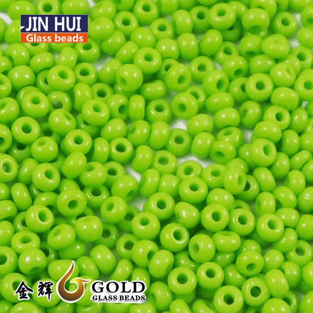 China Jin Hui High Quality Seed Glass Beads 12 0 Used For Bracelet China Glass Bead Bulk And Pearl Glass Bead Price