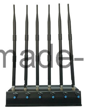 Adjustable 15W 3G/4G Cellphone Jammer with 6 Powerful Antenna pictures & photos