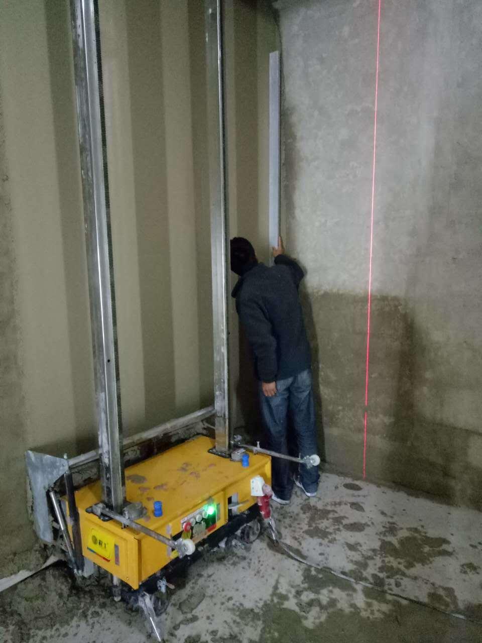 China 2016 Automatic Wall Painting Machine Plastering Machine Wall