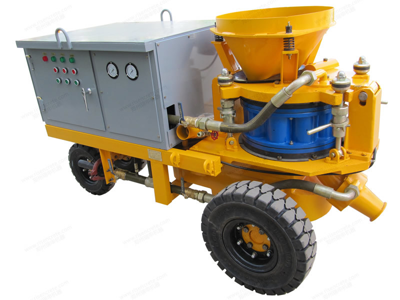 Pzs3000 Wet&Dry Mix Rotor Shotcrete Machine