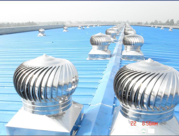 China Wind Driven Industrial Turbine Air Ventilator 600mm