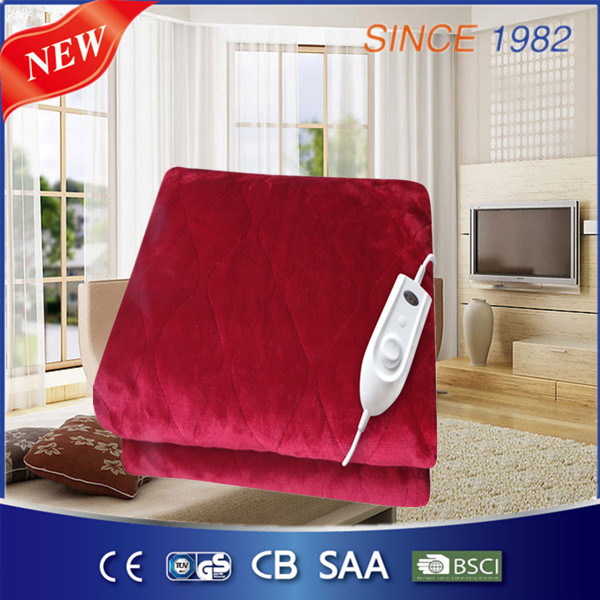 4 Heat Setting Comfortable Electric Bed Warmer