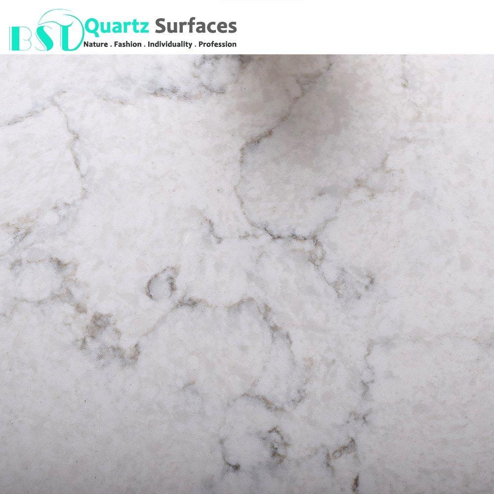 Asia Carrera Marble [hot item] white carrera marble veins artificial quartz stone slabs