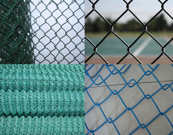 China Galvanized and PVC Coated Hexagonal Chain Link Wire Netting ...