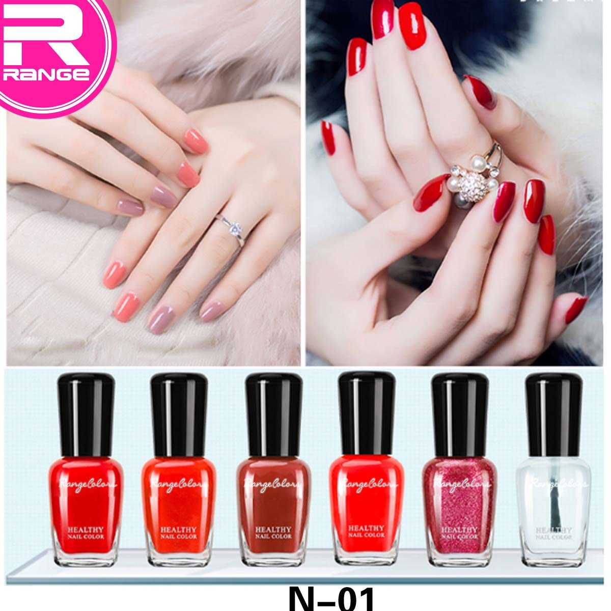 China Factory Supplier Global Fashion No Light Color Gel Nail Polish ...