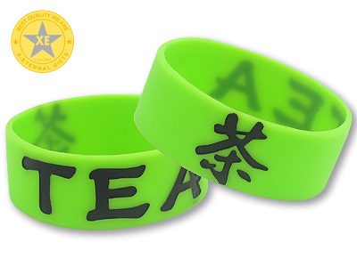 X-Eternal Gifts Promotional Colorful Silicone Rubber Fashion Printing PVC Wristband pictures & photos