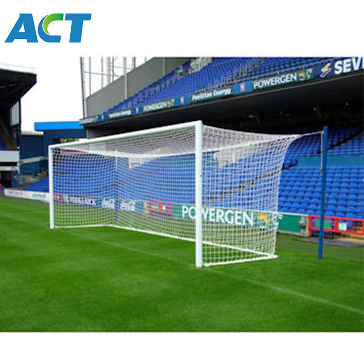 China 8 X24 Full Size Socket Aluminum Soccer Goals Fixed Football Goal Post Lgm China Socket Socder Goals And Goal Posts Price