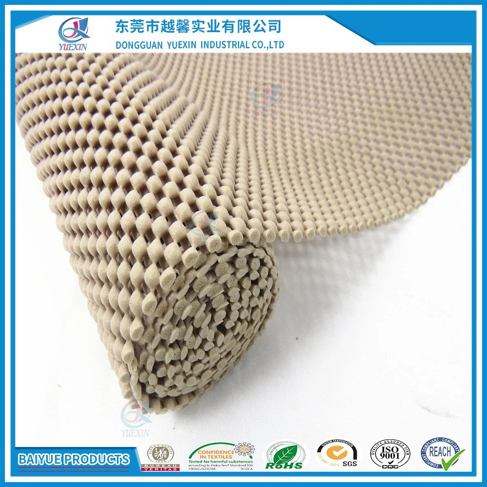 Pvc Non Slip Rug Pad Underlay For Area