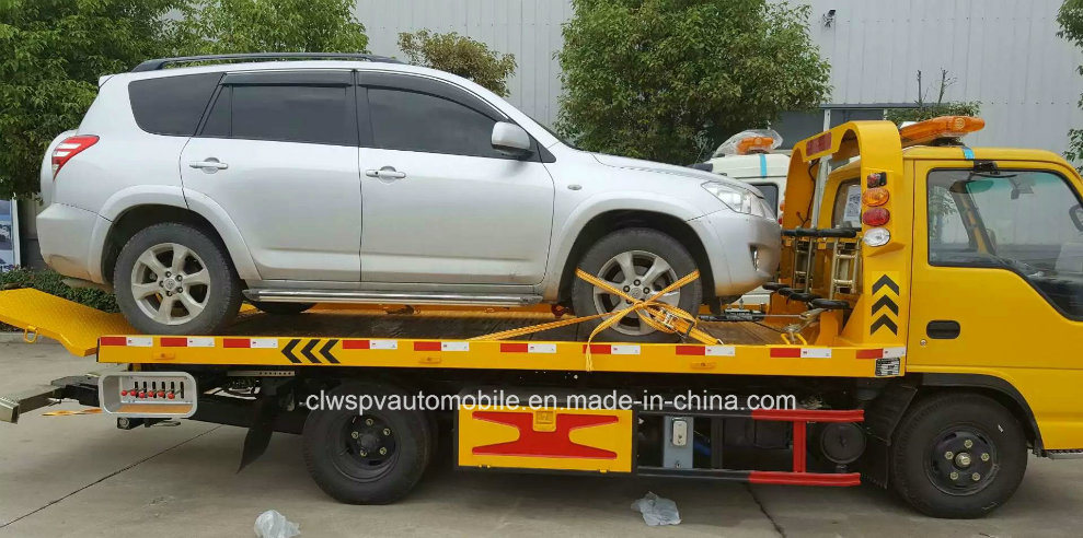 Isuzu 3 Tons Wrecker LHD/Rhd Flat Towing Truck pictures & photos