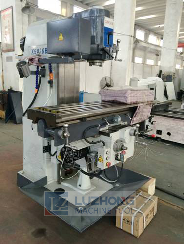 Milling-Machine X5036b-1 Dro Milling Machine pictures & photos