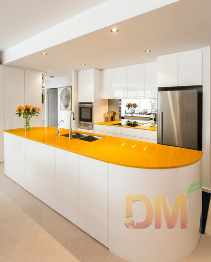 China Modern Curved End Panel Kitchen Cabinet China Kitchen Cupboard Modern Kitchen Cabinet