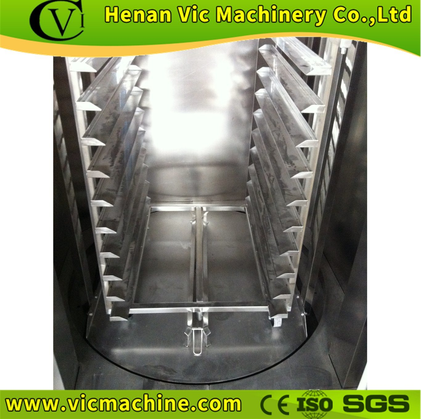 CE Approved Electric Rotary Oven with 36 Trays (all stainless steel) pictures & photos