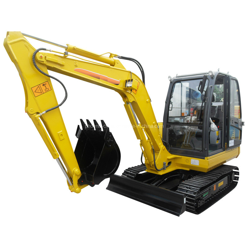 4ton Rubber Track Mini Excavator Yanmar Engine with CE