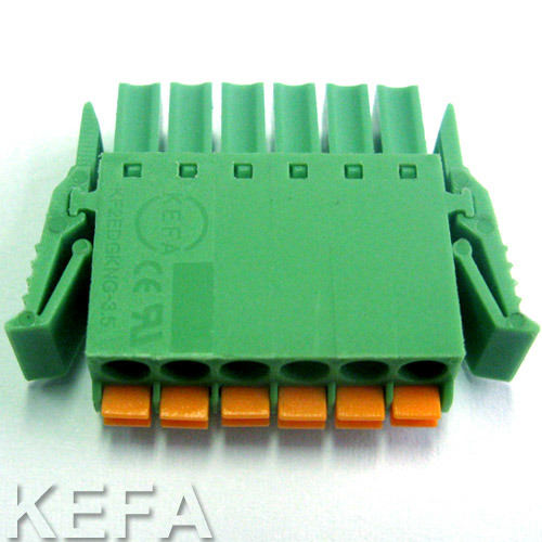 Spring Plugable Terminal Block pictures & photos
