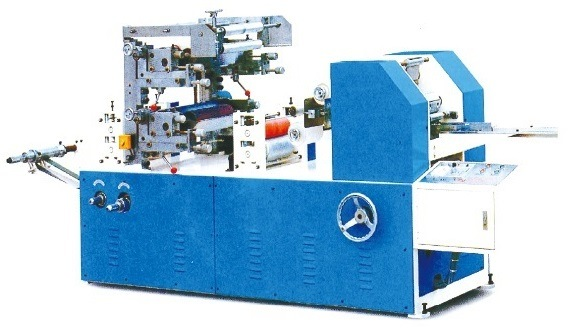 Printed/Embossed Napkin Folder Paper Finish Machine Paper Machine