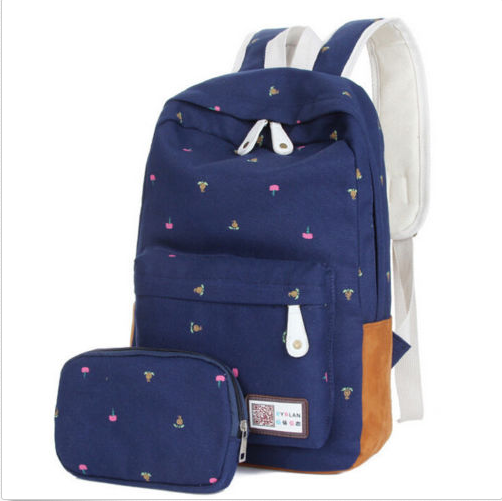 c45906d597 Fashion Women Canvas Girl Cute Backpack Rucksack Travel Shoulder School  Book Bag