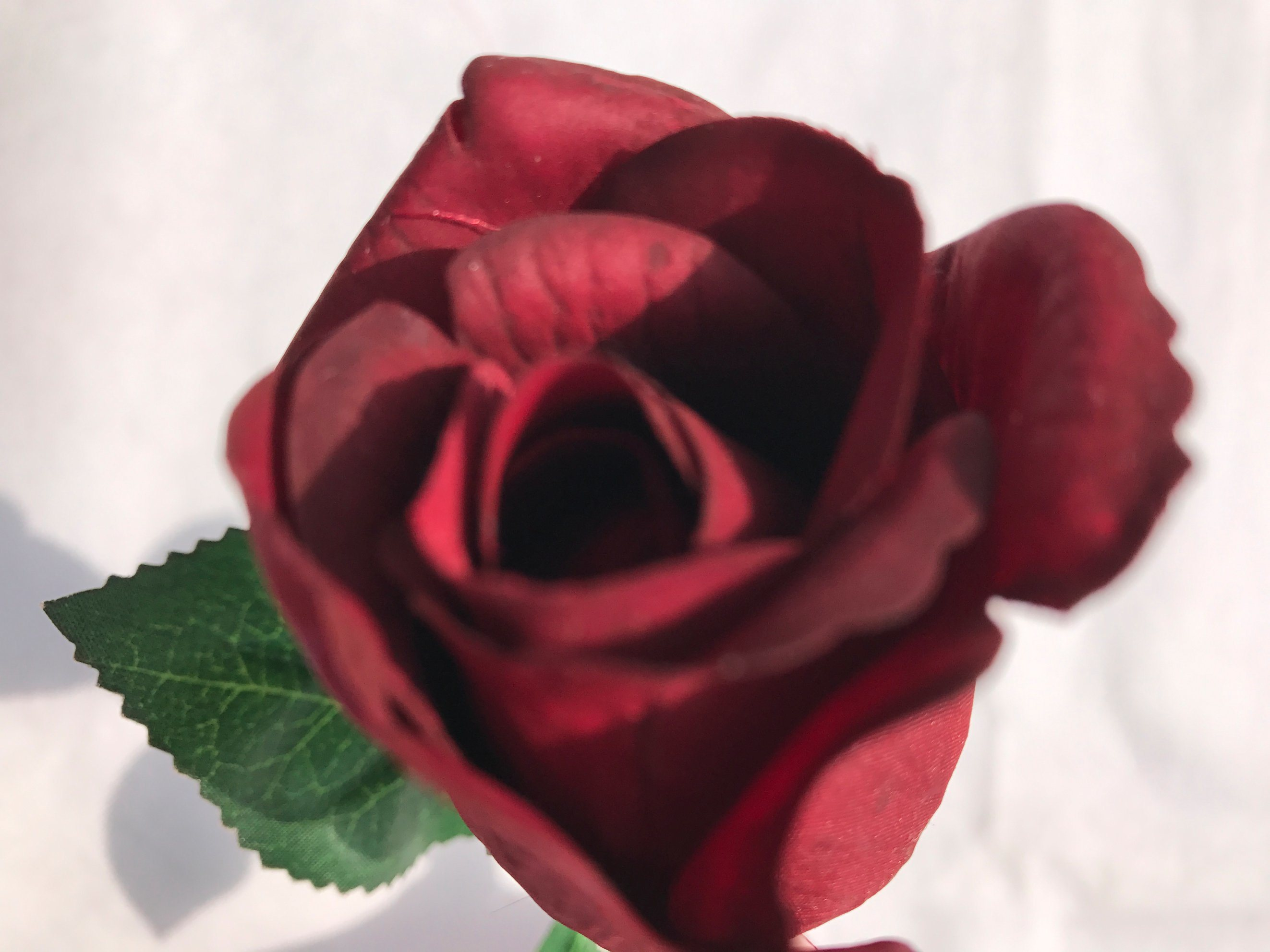 China High Quality Silk Artificial Red Rose Flower For Home Party