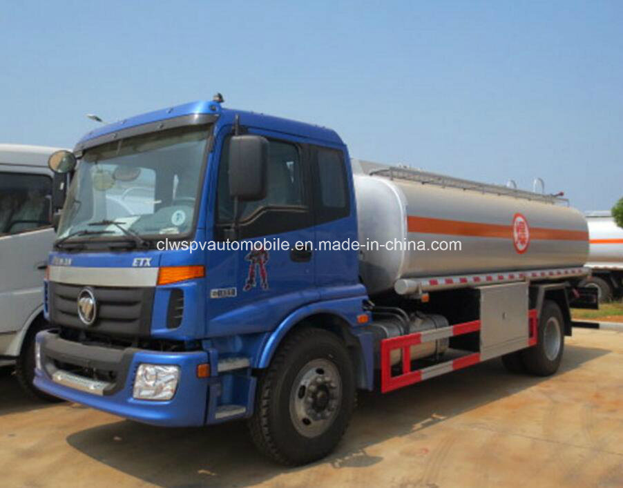 Foton 15cbm Fuel Truck 15000L Tank Truck for Sale pictures & photos
