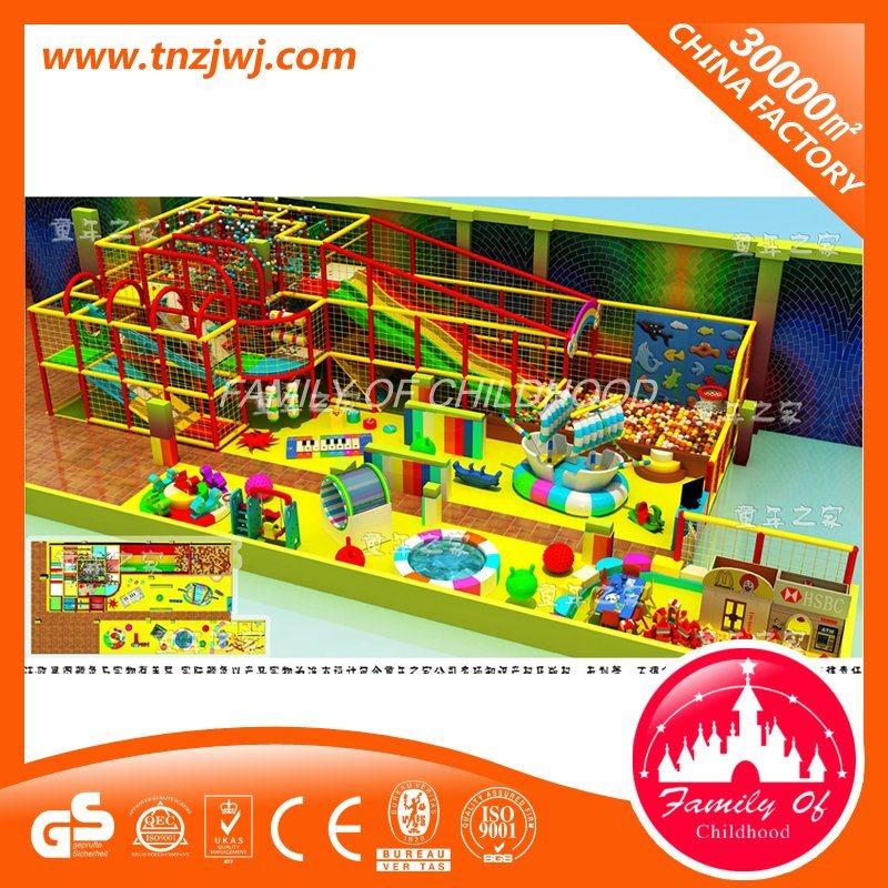 China European Standard Preschool Indoor Playground Equipment Indoor ...