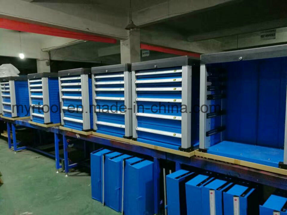 7drawers Comprehensive Hot Selling Empty Trolley with Side Drawers (FY007-3004) pictures & photos