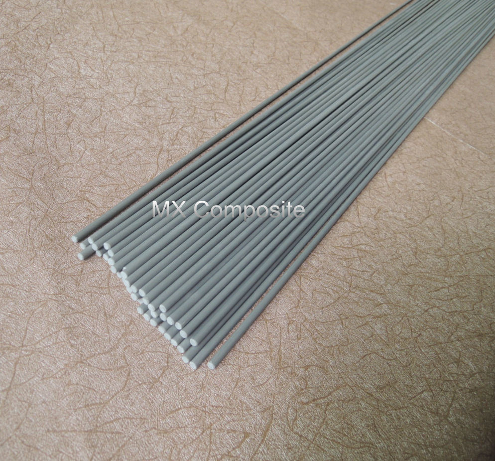 High Quality Fiber Glass Pole in Grey Color