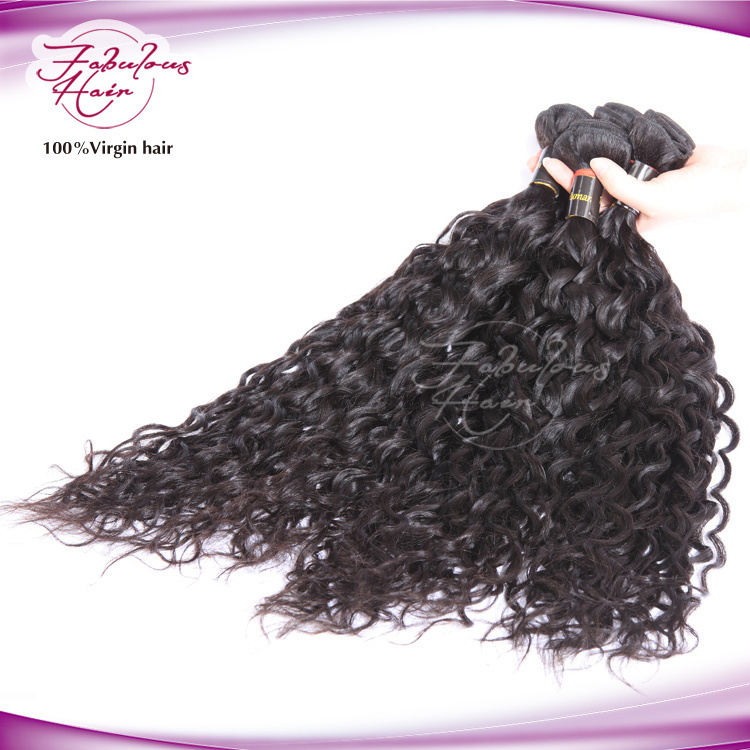 China Top Rated Ocean Wave Brazilian Natural Curly Hair Extensions