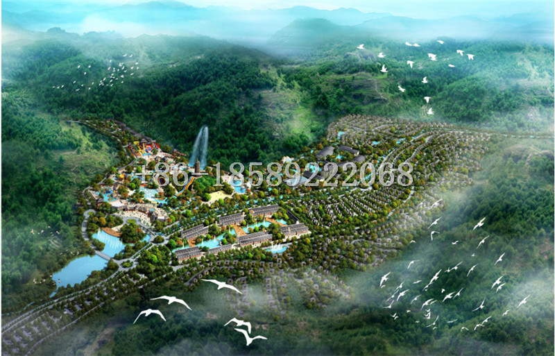 Professional Conceptual Design Fiberglass Water Park for Amusement