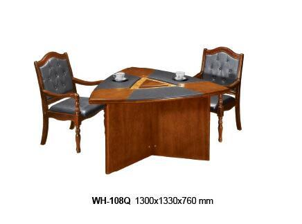 China Wooden Design Office Reception Coffee Table Furniture