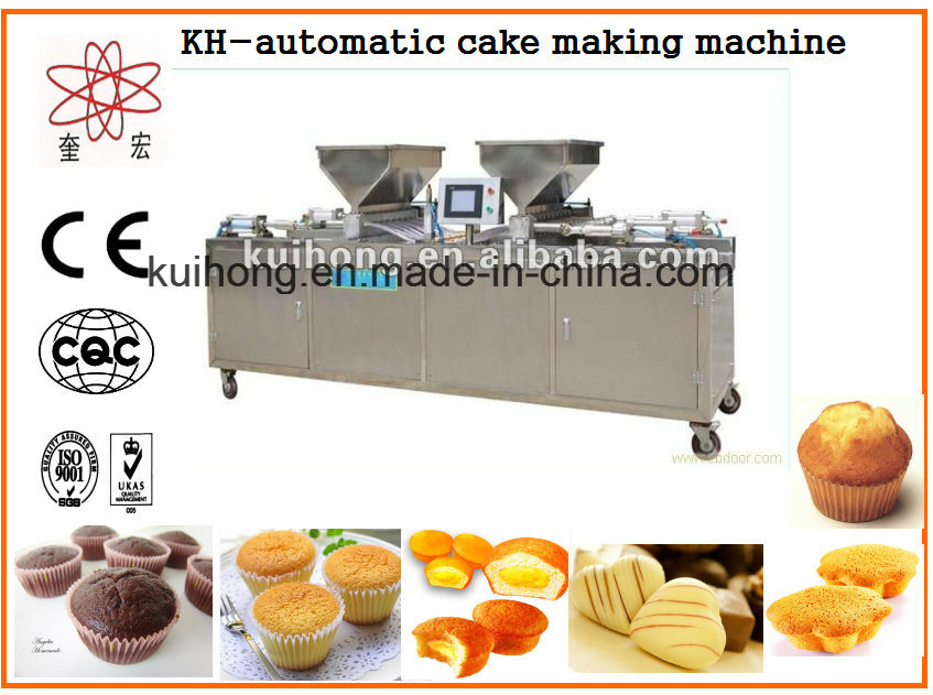 Kh Factory Use Automatic Cake Production Line Machines