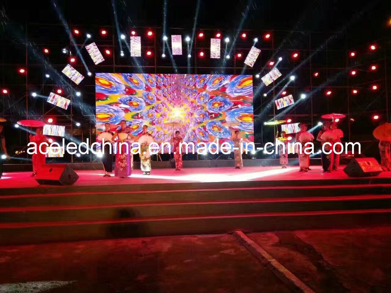 3 Years Warranty HD Rental LED Video Wall P4.81