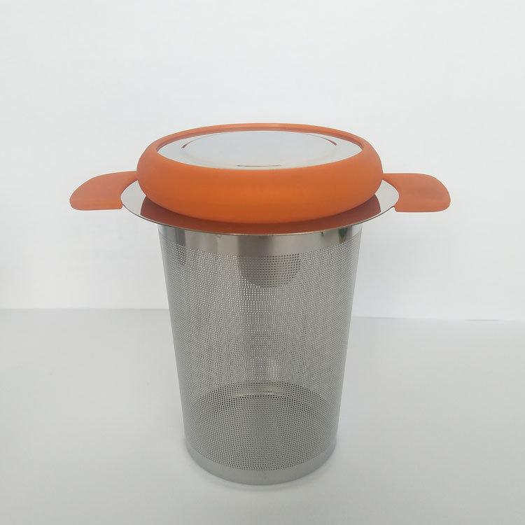 Tea Infuser Loose Leaf Silicone Tea Strainer for TeaPot Mug Bottle Cup 3 Set