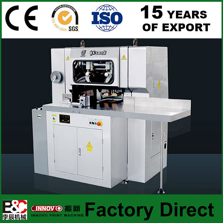 QS380b Three Knife Paper Cutting Machine Three Knife Book Trimmer
