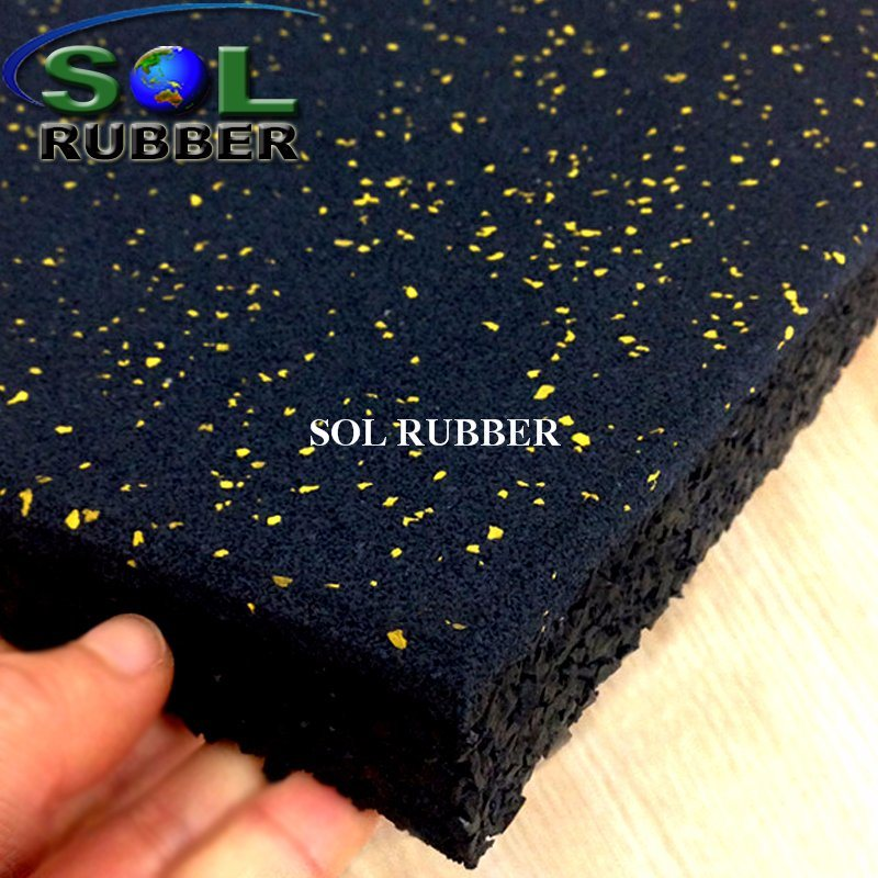 China Reclaimed Rubber Gym Flooring Whole Mats