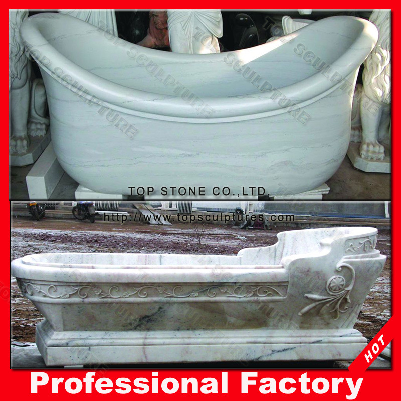 China Stone Marble Shower Tub Standard Bathtub Size for SPA Baths ...