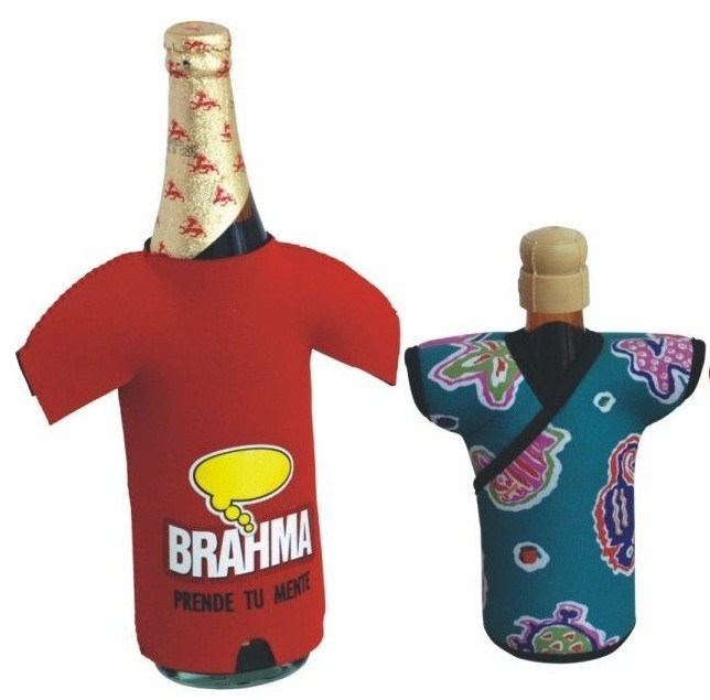 Bottle Cooler, Koozie, Neoprene Bottle Cooler (BC-026)