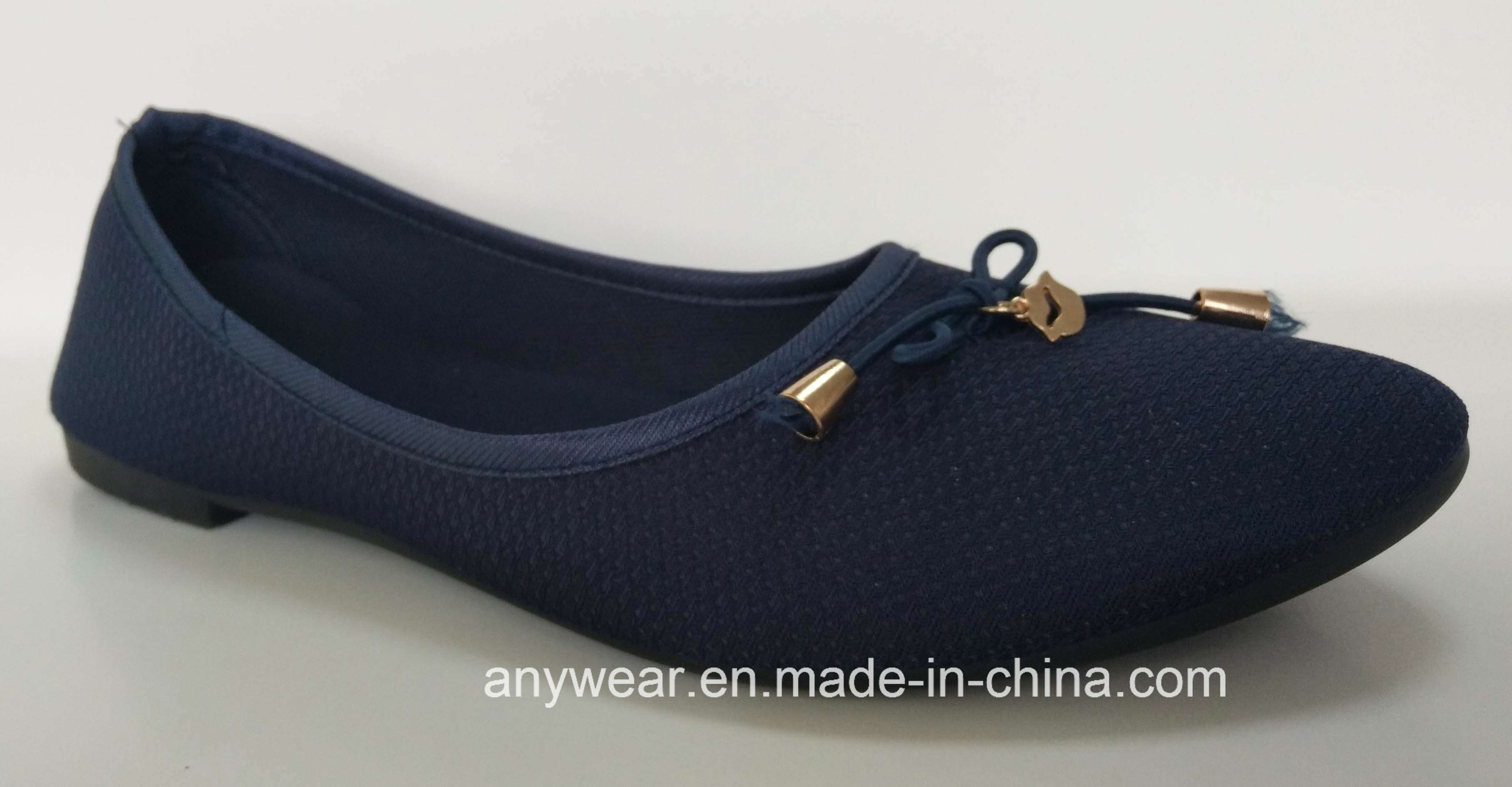 4f3ce46db China New Fashion Comfort Flat Girl Footwear Wholesale Shoes for Women  (735) - China Shoes, Shoe