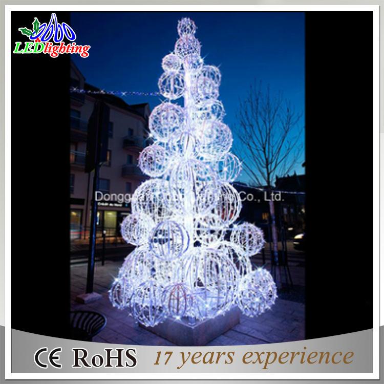 Commercial Outdoor Christmas Decorations.Hot Item Commercial Outdoor Christmas Decoration Led 3d Motif Sculpture Ball Tree Light