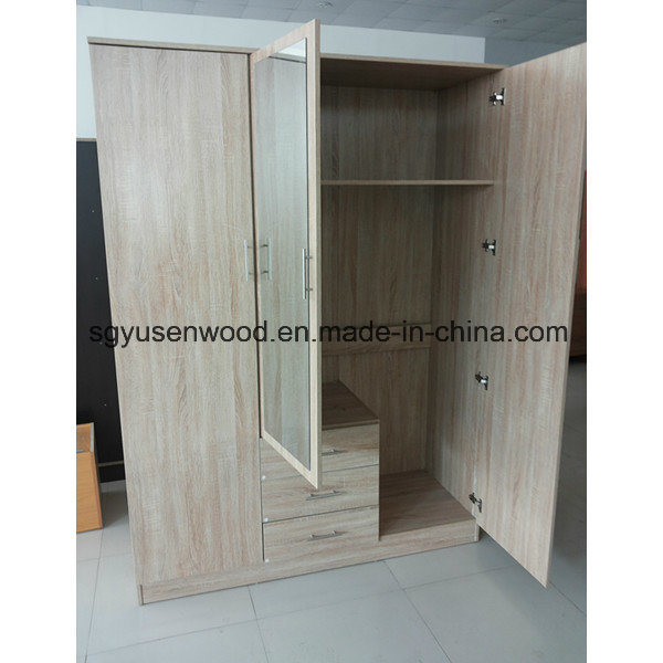 China Bedroom Furniture Melamine Chipboard Particle Board Wardrobe Closet Modern