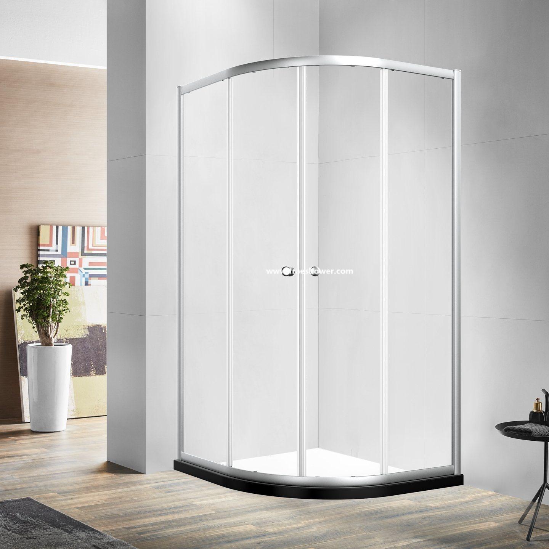 Hot Item 6mm Thickness Tempered Glass Sliding Shower Room