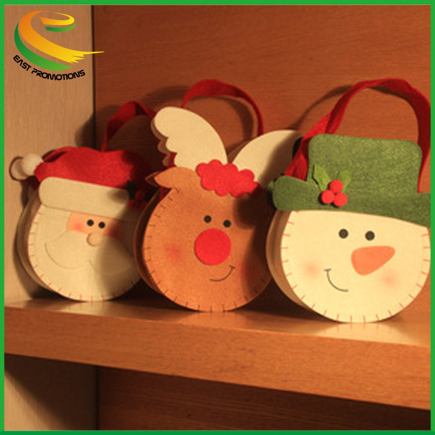 Hot Item Home Crafts Holidhome Crafts Holiday Christmas Hanging Decorations Handmade Felt Christmas Doll Christmas