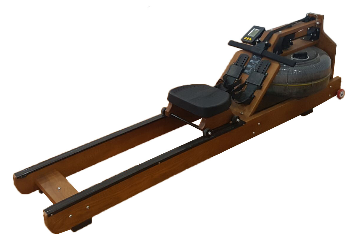 Hot Item Gym Wooden Water Rowing Machine Osm 05a