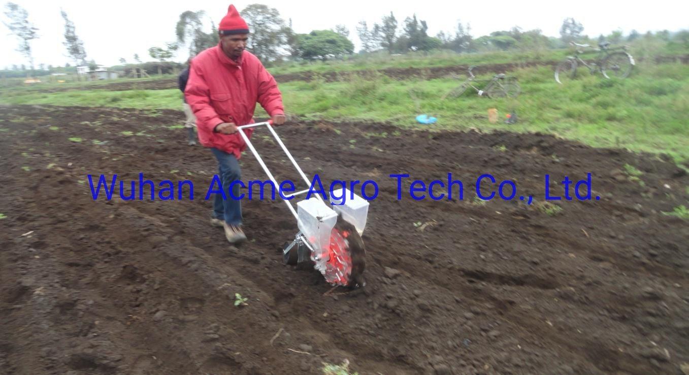 China Hand Push Seeder 2 Row Corn Planter Corn Seed Planter Photos