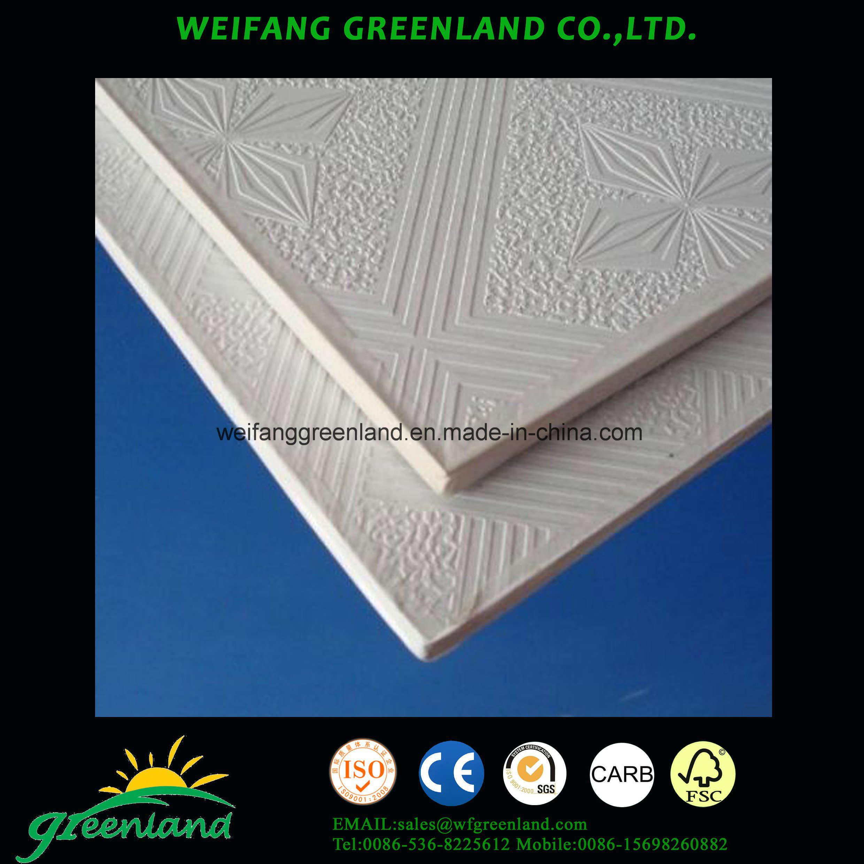China Good Quality Gypsum Ceiling Board/ Gypsum Ceiling Tiles/Gypsum ...
